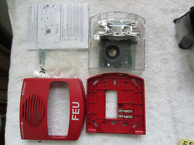Simplex 49av-wrq Wall Red Horn Strobe Pn 07431297 Free Shipping The Same Day