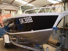 Aluminium 4.5mt (15ft) deep vee runabout and trailer new . Bayswater Bayswater Area Preview