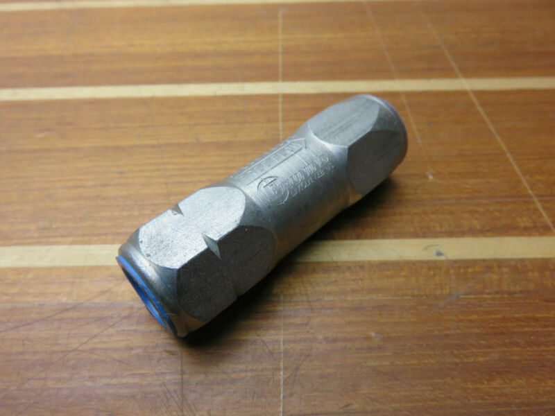 """Parker Hannifin Deccto Bruning C-370 DC 3/8"""" In-Line Hydraulic Check Valve"""