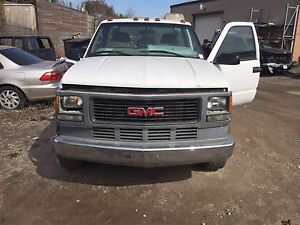 Gmc hd 6.5 diesel complete cab and chass