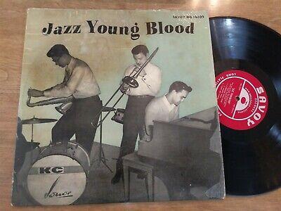 JAZZ YOUNG BLOOD Savoy Records MG 12030 1955 Jazz LP