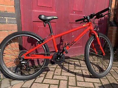 Bright Red Frog 62 kids bike, suit age 8-10. Great light bike. Not Islabike