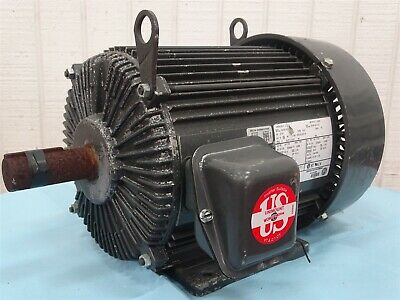 Emerson Ad83 Electric Motor 3-phase 50-60hz 7.5hp 1445-1765rpm
