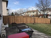 Spring is here !! Fence repairs , post replacement , fences