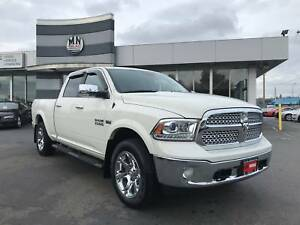 2016 Ram 1500 Laramie CREW 4WD NAVI LOADED 47, 000KM