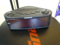 Sylvania Table Top Dual Alarm Clock AM/FM Radio 1.8 Jumbo Digits SCR1206 (G)
