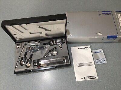 New Unused Economy Riester Ophthalmoscope Otoscope Set Free Sh