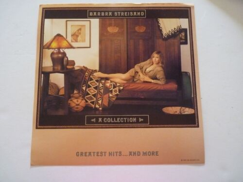 Barbra Streisand Collection Greatest Hits LP Record Photo Flat 12X12 Poster