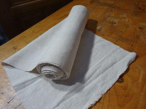 A Homespun Linen Hemp/Flax Yardage 9 Yards x 18