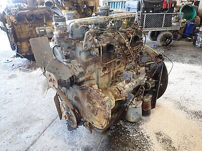 Perkins 4.212 4-236 Diesel Engine Runs Exc Video 212 4.236 Early Tractor Welder