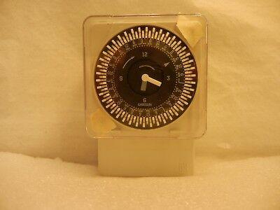 Time Clock 7 Day Spdt 120v Din Rail Mount Synchronous