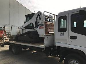 T300 Track Bobcat complete on Beaver Tail Isuzu Truck Perth Perth City Area Preview