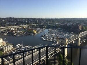 Downtown Vancouver August Sublet With Spectacular View