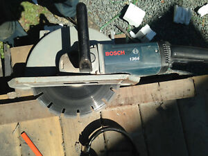 Bosch 12' Abrasive Cut Off Saw With Makita Blade