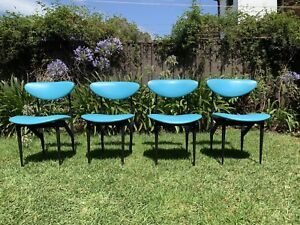 Mid Century Featherston scape dining chairs retro vintage