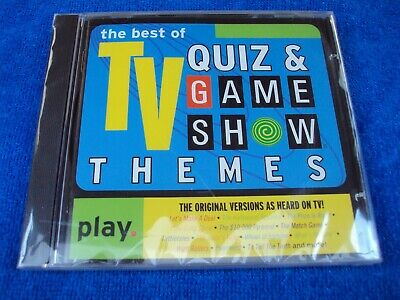 CD ~ The Best of TV Quiz and Game Show Themes ~ 20 Songs,Original Version, Bin