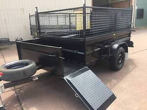 LAWN MOVER 8X5 WITH RAMP 600MM CAGE 12 MONTHS PRIV REGO $3300 Penrith Area Preview