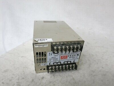 Mean Well Sp-500-12 12v 40a 480w Ac Dc Switching Power Supply
