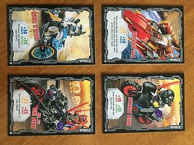 LEGO Ninjago Trading Cards Series 3 Vehicles + jigsaws