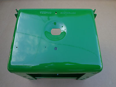 Battery Box For John Deere B R 80 Has Tractor Centerline With Light Hole