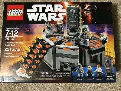LEGO 75137 Star Wars Carbon-Freezing Chamber, New, Sealed in Box