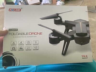 Foldable Drone with 1080P HD Camera for Adults and Kids - WiFi FPV RC Quadcopter