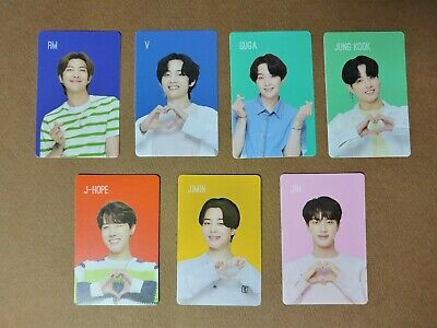BTS x Chilsung Cider Official Photocard Set