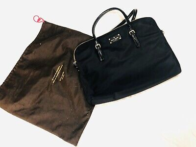 "Genuine KATE SPADE NEWYORK 15"" Laptop Bag Shoulder / Crossbody - Black"