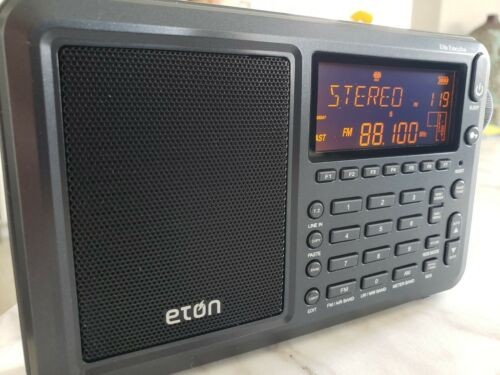 Eton Executive Elite Radio (AM/FM/Aircraft Band/SSB/Shortwave Radio with RDS)