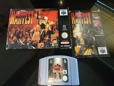 Body Harvest (Nintendo 64, 1998) N64 - with orignal box and manual