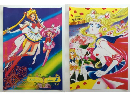 Sailor Moon Chibimoon Jupiter Venus Anime Set of 2 Poster Rare New Lot