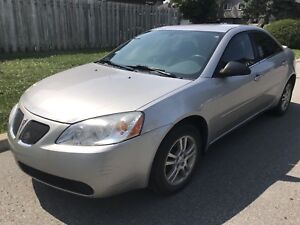2006 Pontiac G6...147 kms, 4-dr 4-cyl auto equipped