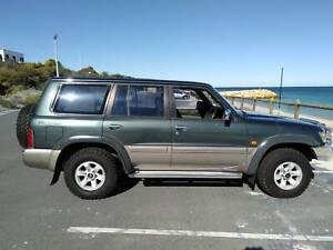 1998 Nissan Patrol Ti (4x4) 5 Sp Auto Sports Shift 4d Wagon