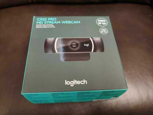 BRAND NEW Logitech C922 Pro Stream Webcam Full 1080p HD 960-001087