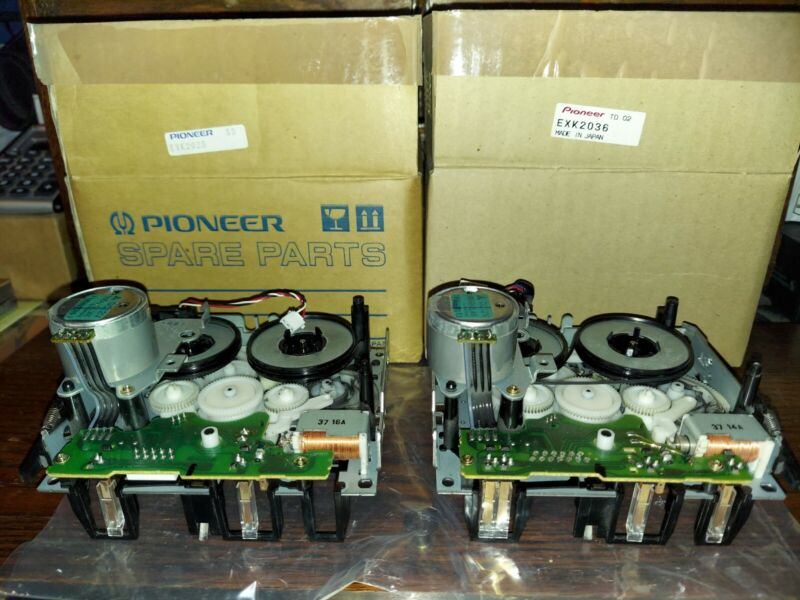 Pioneer EXK2036 & 2045 Dual Cassette Mechanism Assy for CT-W602R NOS in Boxes