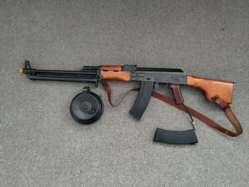 Airsoft LCT RPK with Daytona HPA Recoil Conversion Kit - Full Metal and Wood