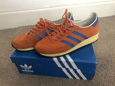 Mens Adidas Vintage Originals Retro Marathon Boxed Blue Trainers 1985  UK 10 85