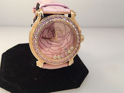 CHOPARD HAPPY SPORT LIMITED EDITION ROSE GOLD LADIES WATCH NEW!! $27,220 RETAIL!