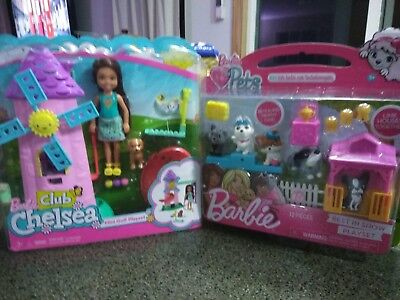 New BARBIE CLUB CHELSEA MINIATURE GOLF PLAYSET with best in show