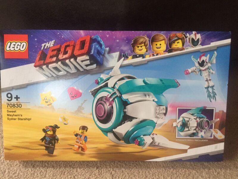 Lego Movie 2  70830 Sweet Mayhem/'s Systar Starship ~NEW /& Unopened~
