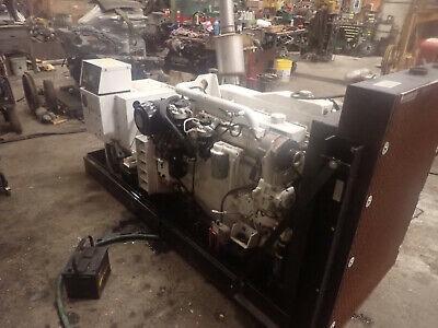 Cummins Mddcd 80 Kw Marine Generator Video Low Hours Genset John Deere Diesel