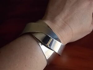 Solid Silver '925' Cuff Bangle Armidale Armidale City Preview