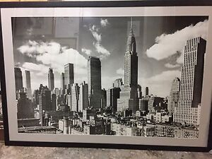 New York City picture n frame