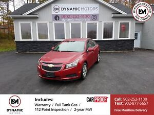 2014 Chevrolet Cruze 1LT NEW TIRES! OWN FOR $107 B/W, 0 DOWN,...