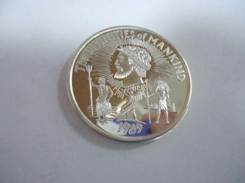 1969 Mardi Gras Krewe Of Jupiter .999 Fine Silver Doubloon