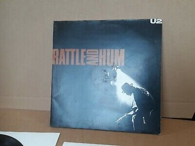 U2 Rattle and Hum Double Gatefold Record Can do Combine Postage