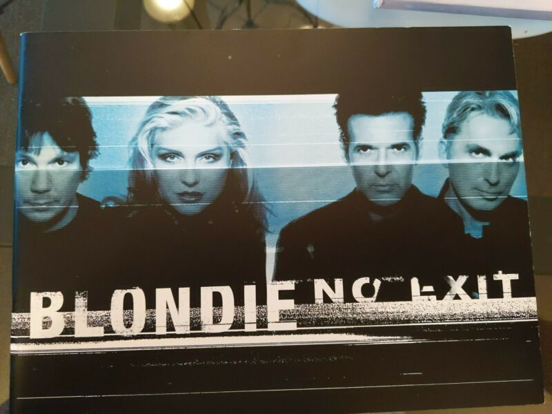 "Blondie Deborah Harry ""No Exit"" Tour Book New Official Mint Program"