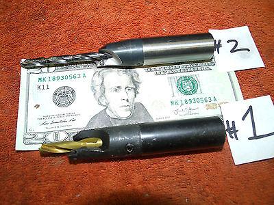 Hertel drill chamfer tool 3,37081 R320 7.1-8 mm or Kennametal 3,37061  5.1-5.5mm