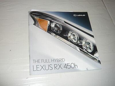 2009 Lexus RX450h hybrid 4x4 SUV truck n Land Cruiser Hilux GS LS IS LFA Toyota