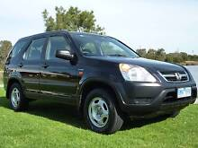 2002 Honda CRV 2.4 Litre AUTOMATIC  $4500  Ideal family or 2 car Waterways Kingston Area Preview